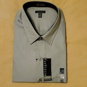 Mens long sleeve dress shirt